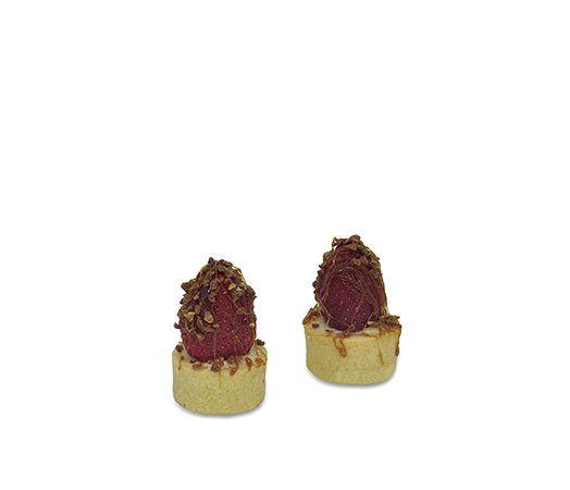 Ramequin Caramelado de morango – 10 unidades