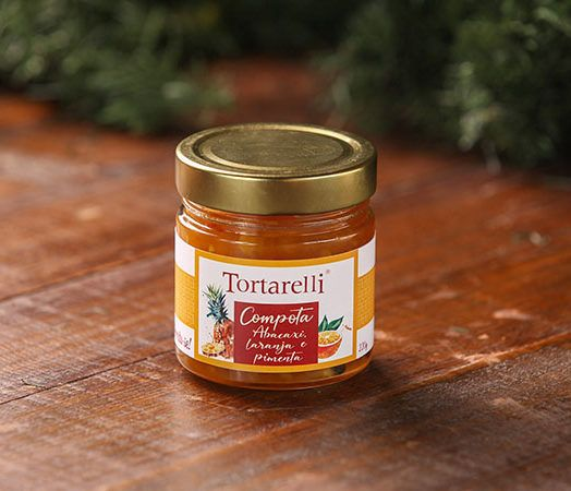 Compota de Abacaxi, Laranja e Pimenta