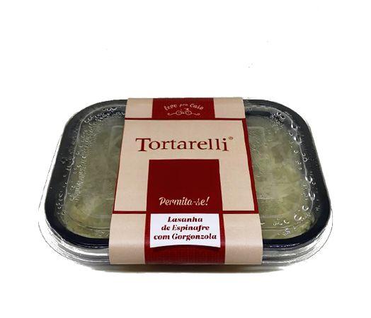 Lasanha de Espinafre com Gorgonzola