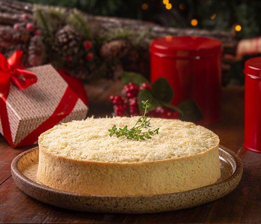 Cheesecake de Bacalhau