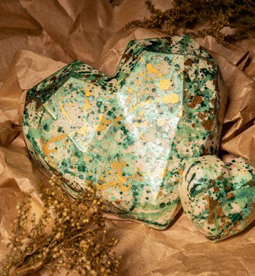 Coração Torta de limão